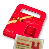 Geschenkverpackung Schokolade