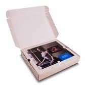 Verpackung mit Einladungskarte und Vertiefung