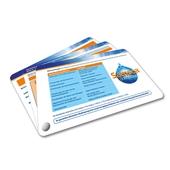Fächerkarten - Produktfächer mit Buchschraube