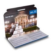 3D Mailing DIN lang - Messeeinladung