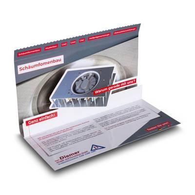 3D Mailing DIN lang mit Safetyverschluss
